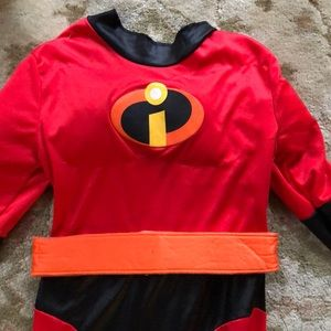 Kids Incredibles Costume Size 7